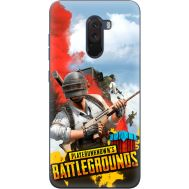 Силиконовый чехол Remax Xiaomi Pocophone F1 PLAYERUNKNOWN'S BATTLEGROUNDS