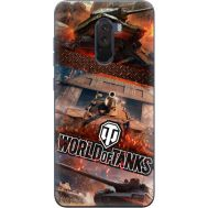 Силиконовый чехол Remax Xiaomi Pocophone F1 World Of Tanks