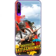 Силиконовый чехол Remax Huawei Honor 9X Pro PLAYERUNKNOWN'S BATTLEGROUNDS