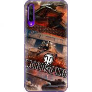 Силиконовый чехол Remax Huawei Honor 9X Pro World Of Tanks