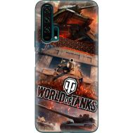 Силиконовый чехол Remax Huawei Honor 20 Pro World Of Tanks