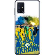 Силиконовый чехол Remax Samsung M515 Galaxy M51 Ukraine national team