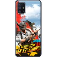 Силиконовый чехол Remax Samsung M515 Galaxy M51 PLAYERUNKNOWN'S BATTLEGROUNDS
