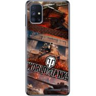 Силиконовый чехол Remax Samsung M515 Galaxy M51 World Of Tanks
