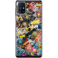 Силиконовый чехол Remax Samsung M515 Galaxy M51 CS:Go Stickerbombing
