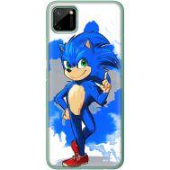 Силиконовый чехол Remax Realme C11 Sonic Blue
