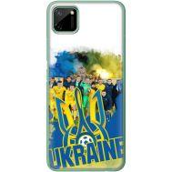 Силиконовый чехол Remax Realme C11 Ukraine national team