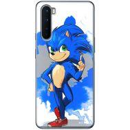 Силиконовый чехол Remax OnePlus Nord Sonic Blue