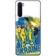 Силиконовый чехол Remax OnePlus Nord Ukraine national team