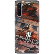 Силиконовый чехол Remax OnePlus Nord World Of Tanks
