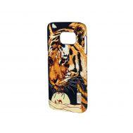Чехол для Samsung Galaxy S7 (G930) Luxo Face neon тигр в пустыне