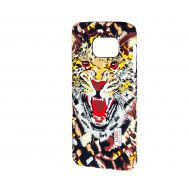 Чехол для Samsung Galaxy S7 (G930) Luxo Face neon леопард ярость