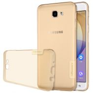Чехол для Samsung Galaxy J7 Prime 2016 (G610) Nillkin Nature золотой/прозрачный