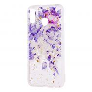 """Чехол для Samsung Galaxy M20 (M205) Flowers Confetti """"пионы"""""""