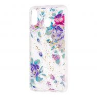"Чехол для Samsung Galaxy M20 (M205) Flowers Confetti ""цветы"""