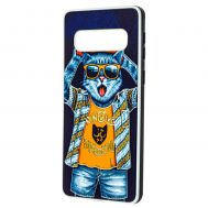 Чехол для Samsung Galaxy S10 (G973) Fashion mix кот