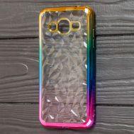 Чехол для Samsung Galaxy J2 Prime (G532) Prism Gradient золотисто розовый