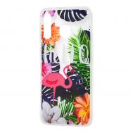 Чехол для Samsung Galaxy M30 (M305) Nice фламинго