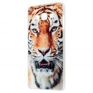 Чехол для Samsung Galaxy A7 (A700) тигр