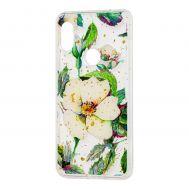 "Чехол для Xiaomi Redmi Note 6 Pro Flowers Confetti ""шиповник"""