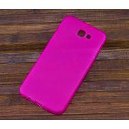 Силиконовый чехол для Samsung Galaxy J7 Prime (2017) / G610F розовый / прозрачный