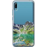Силиконовый чехол BoxFace Huawei Y6 2019 Green Mountain (36452-cc69)
