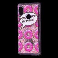 "Чехол для Xiaomi Redmi Note 5 Pro Блестки вода Fashion ""Donut"""