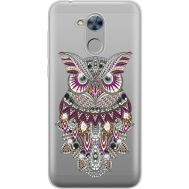 Силиконовый чехол BoxFace Huawei Honor 6A Owl (934983-rs9)