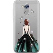Силиконовый чехол BoxFace Huawei Honor 6A Girl in the green dress (934983-rs13)