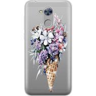Силиконовый чехол BoxFace Huawei Honor 6A Ice Cream Flowers (934983-rs17)