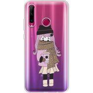 Силиконовый чехол BoxFace Huawei Honor 10i Winter Morning Girl (37080-cc61)
