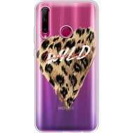 Силиконовый чехол BoxFace Huawei Honor 10i Wild Love (37080-cc64)