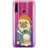 Силиконовый чехол BoxFace Huawei Honor 10i Dog Coffeeman (37080-cc70)