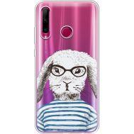 Силиконовый чехол BoxFace Huawei Honor 10i MR. Rabbit (37080-cc71)