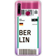 Силиконовый чехол BoxFace Huawei Honor 10i Ticket Berrlin (37080-cc80)
