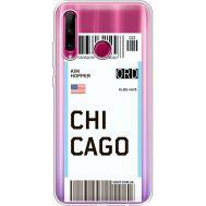 Силиконовый чехол BoxFace Huawei Honor 10i Ticket Chicago (37080-cc82)