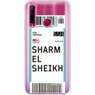 Силиконовый чехол BoxFace Huawei Honor 10i Ticket Sharmel Sheikh (37080-cc90)