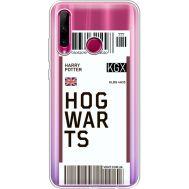 Силиконовый чехол BoxFace Huawei Honor 10i Ticket Hogwarts (37080-cc91)