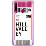 Силиконовый чехол BoxFace Huawei Honor 10i Ticket Hill Valley (37080-cc94)