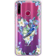 Силиконовый чехол BoxFace Huawei Honor 10i Spring Bird (37080-cc96)