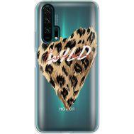 Силиконовый чехол BoxFace Huawei Honor 20 Pro Wild Love (38273-cc64)