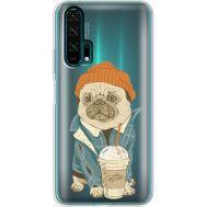 Силиконовый чехол BoxFace Huawei Honor 20 Pro Dog Coffeeman (38273-cc70)