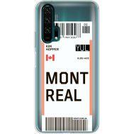 Силиконовый чехол BoxFace Huawei Honor 20 Pro Ticket Monreal (38273-cc87)