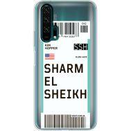 Силиконовый чехол BoxFace Huawei Honor 20 Pro Ticket Sharmel Sheikh (38273-cc90)