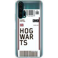Силиконовый чехол BoxFace Huawei Honor 20 Pro Ticket Hogwarts (38273-cc91)