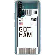 Силиконовый чехол BoxFace Huawei Honor 20 Pro Ticket Gotham (38273-cc92)