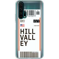 Силиконовый чехол BoxFace Huawei Honor 20 Pro Ticket Hill Valley (38273-cc94)