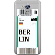 Силиконовый чехол BoxFace Huawei Honor 6A Ticket Berrlin (34983-cc80)