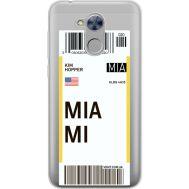 Силиконовый чехол BoxFace Huawei Honor 6A Ticket Miami (34983-cc81)