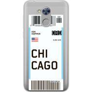 Силиконовый чехол BoxFace Huawei Honor 6A Ticket Chicago (34983-cc82)